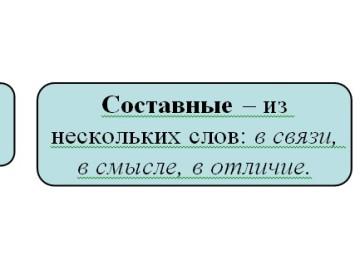 Предлоги в русском языке